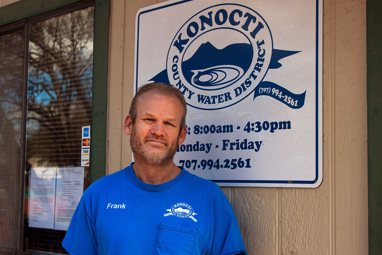 Photo of Frank Costner, general manager of Konocti County Water District