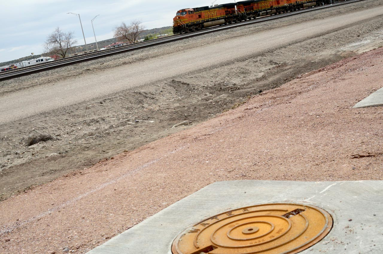Gallup uses wells that were originally drilled in the 1800s for railroad steam engines.