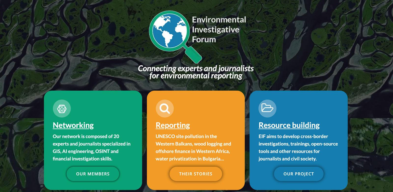 Environmental Investigative Forum
