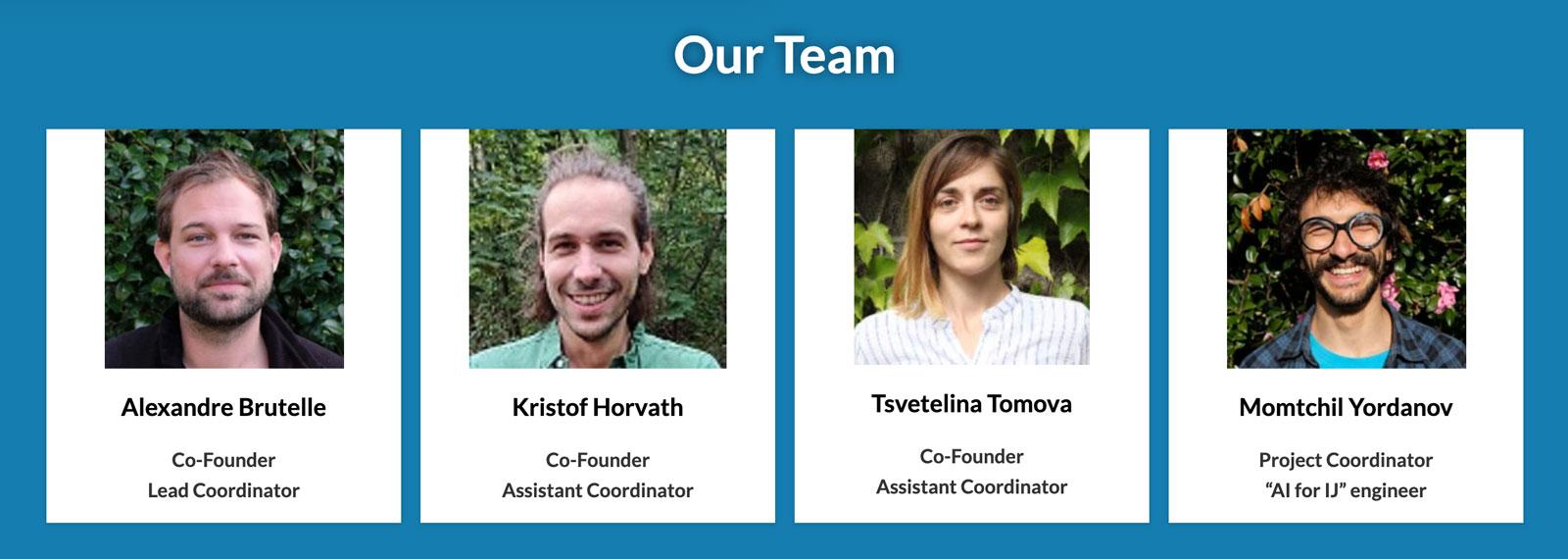 Environmental Investigative Forum Team